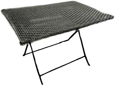 Tavolino da campeggio regolabile in altezza tavolo 4 sgabelli