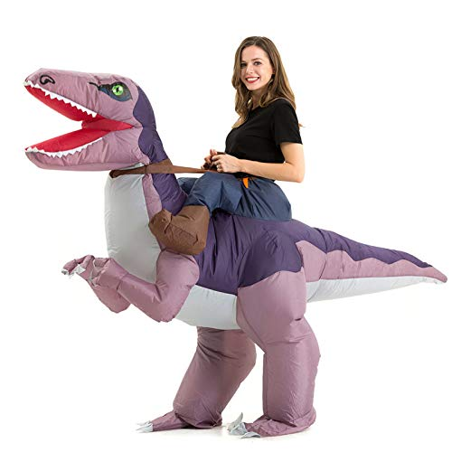 Inflatable Dinosaur Costume Adult Men Women, Inflatable Blow Up Costume Riding...