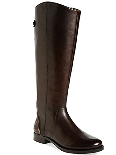 Arturo Chiang Women's Classic Tall Riding Boots Falicity Dark Chocolate