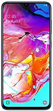 "Samsung Galaxy A70 128GB/6GB SM-A705M/DS 6.7"" HD+ Infinity-U 4G/LTE Factory Unlocked Smartphone (International Version) (Blue)"