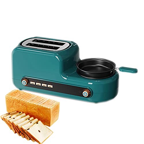 Bread Machine Home Breakfast Machine Small Automatic Toaster Multi-Function Toast Toaster 6-Speed Baking Removable Bread Crumb Tray