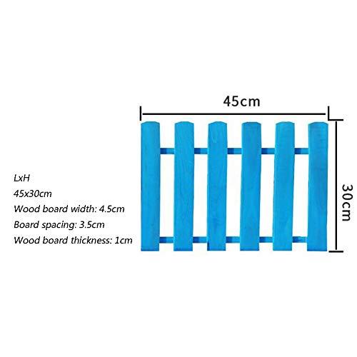 WXQ Gartenzaun Schirm Garten Barrier Außendekoration Kinder Leitschiene Karbonisierung Korrosionsbeständig, 4 Größen (Color : A, Size : 45X30CM)