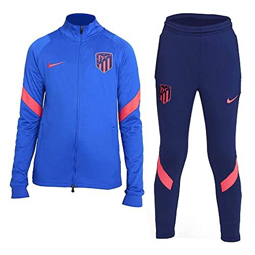 Nike Atm Ynk Df Strke Trk Suit K Tuta da allenamento, Cobalto/blu/cremisi laser, 13-15 Jahre Unisex Bambino
