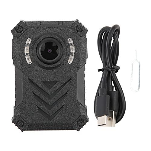 Cámara de cuerpo HD 1080P, cámara de seguridad portátil...