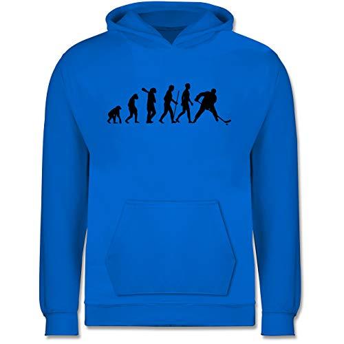 Evolution Kind - Eishockey Evolution - 152 (12/13 Jahre) - Himmelblau - Eishockey Kinder - JH001K JH001J Just Hoods Kids Hoodie - Kinder Hoodie