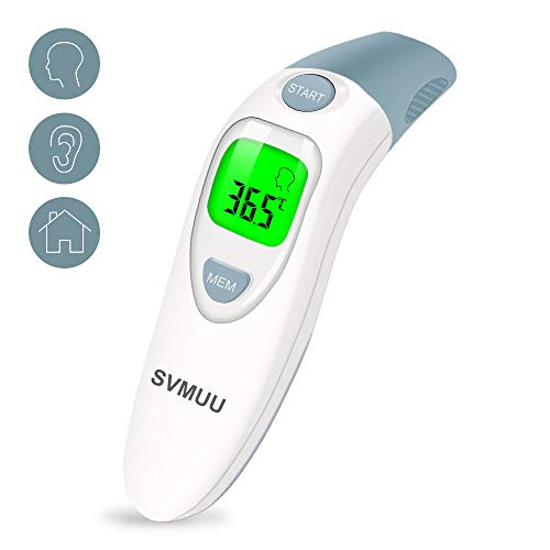 SVMUU Ear and Forehead Thermometer