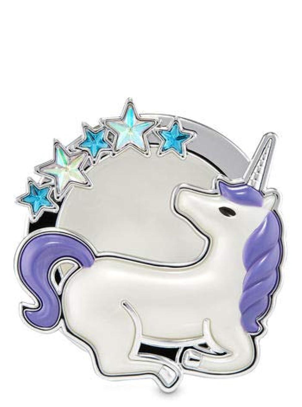 会話アロング操作【Bath&Body Works/バス&ボディワークス】 クリップ式芳香剤 セントポータブル ホルダー (本体ケースのみ) スターゲイジングユニコーン Scentportable Holder Stargazing Unicorn [並行輸入品]