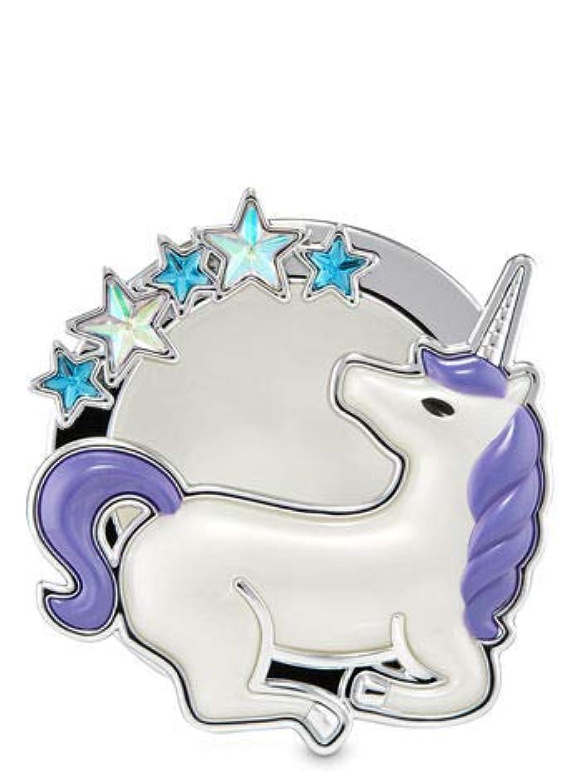 変換する補助自伝【Bath&Body Works/バス&ボディワークス】 クリップ式芳香剤 セントポータブル ホルダー (本体ケースのみ) スターゲイジングユニコーン Scentportable Holder Stargazing Unicorn [並行輸入品]