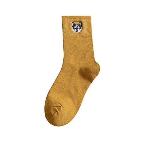 Socke, Lange Socken Frauen In Den Schlauchsocken Wilde Baumwolle Niedlichen Japanischen Studenten Im Frühjahr Und Winter (Color : 25, Size : One Size)