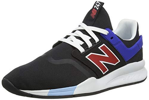 New Balance Herren 247v2 Deconstructed Sneaker, Schwarz (Black Black), 44 EU