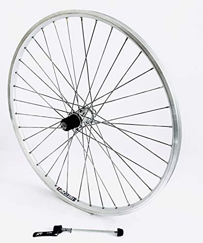 Vuelta 28 Zoll Fahrrad Laufrad Hinterrad Hohlkammerfelge Cut 19 Shimano XT 780 Silber 8/9/10-fach für V-Brakes/Felgenbremse