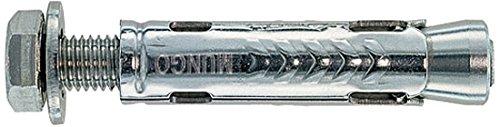Mungo MSB-S 8 Tassello in Acciaio con Vite, 8x60 mm, 25 Pezzi