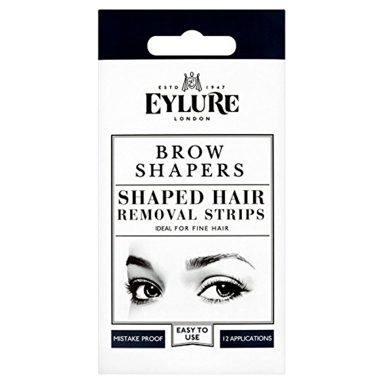 良さアイザック穏やかな眉毛シェイパー x4 - Eylure Eyebrow Shapers (Pack of 4) [並行輸入品]