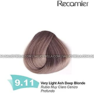 Recamier SalonIn Techni Tone Permanent Hair Color Creme Low Ammonia Dyes 40+ Colors | Tintes