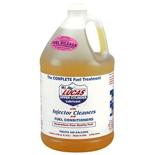 Lucas 10013 Fuel Treatment, 1 gal, Bottle, Clear Yellow, Liquid