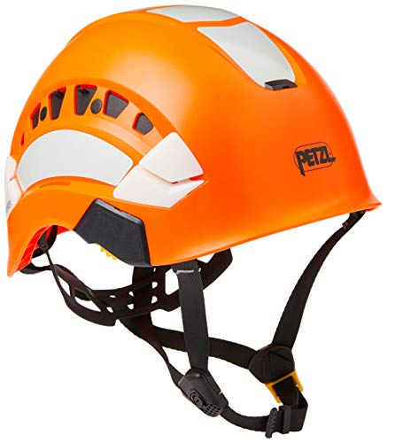 PETZL Unisex-Adult A010EA01 Vertex Vent HI-VIZ Helmet ORANGE, solid, one Size
