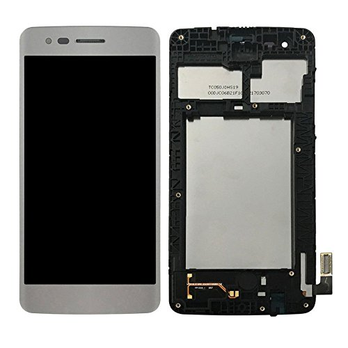 LCD Display Digitizer Touch Screen Assembly with Frame for LG M210...
