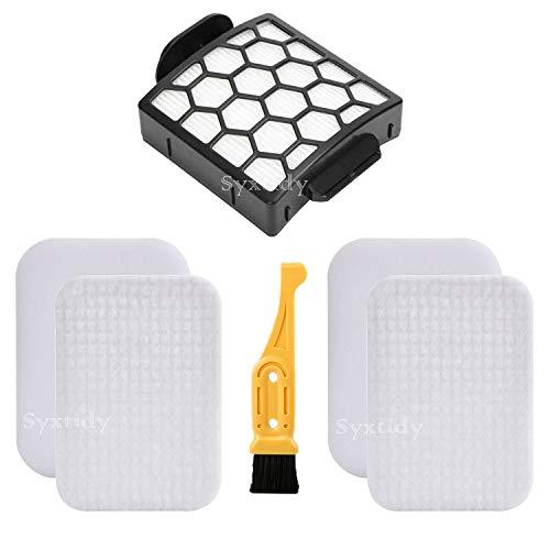 2+1 Pack Replacement Foam&Felt Filters Kit for Shark Navigator Zero-M Self-Cleaning Brushroll Pet Pro Upright Vacuum ZU60 ZU62 ZU62C NV251 NV255,Replace Parts 1238FT60, 1239FT60