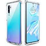 Wepro Huawei P30 Pro Case, Crystal Clear Ultra Thin Slim