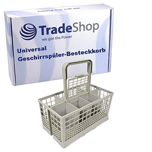 Universal Besteck-Korb passend für IKEA Skinande 303.053.25 91153612004 91153612003 91153612001 Geschirrspüler / 24x14x12cm mit abnehmbarem Griff