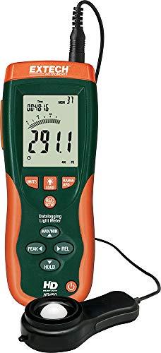 Extech HD450 Medidor de luz con registro de datos de uso rudo