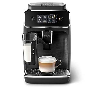 Philips 2200 Serie EP2232/40 Kaffeevollautomat, 3 Kaffeespezialitäten (LatteGo Milchsystem) Matt-schwarz/Schwarz-gebürstet (B083P4HTB2) | Amazon price tracker / tracking, Amazon price history charts, Amazon price watches, Amazon price drop alerts