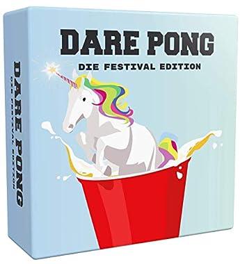 🍻 DAS ORIGINAL: Dare Pong ist das deutsche Original. Von anderen kopiert, aber stets unerreicht! Der innovative Spiel-Zusatz für Euer Beer Pong Vergnügen. Ideal auf Festivals, Zeltplätzen, Campingtrips, Gartenpartys oder beim Outdoor-Vortrinken. 🎉 75...