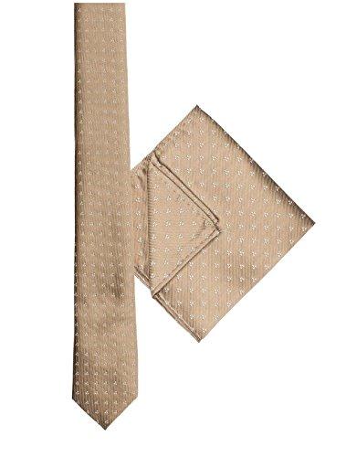 Paisley of London Jungen Krawatten Set braun bronze onesize