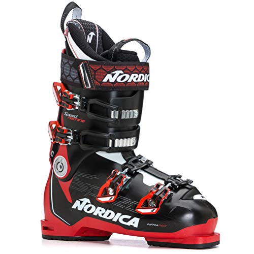 Nordica Speedmachine 110 Ski Boots 2020-28.5/Black-Red-White