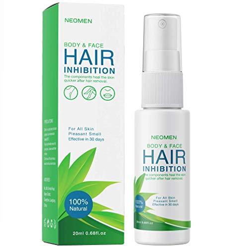 Neomen Hair Inhibitor  Premium Hair Removal Spray  Painless Hair Stop Growth Spray  Skin Friendly Painless Flawless NonIrritating Hair Removal Inhibitor for Women and Men
