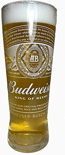 Budweiser 2020 - Bicchiere da pinta nucleato, 1 bicchiere