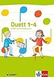 Duett 1-4: 4 Audio-CDs zum Liederbuch Klasse 1-4 (Duett. Allgemeine Ausgabe ab 2016)