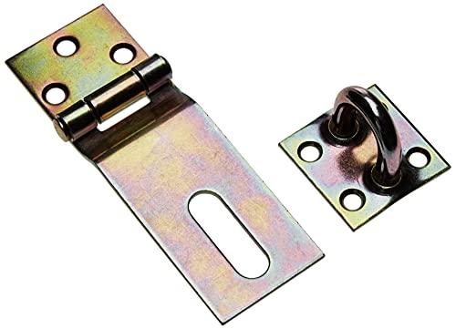 GAH-Alberts 348359 Sicherheits-Überfalle   galvanisch gelb verzinkt   Länge Überfalle 85 mm   Breite 37 mm
