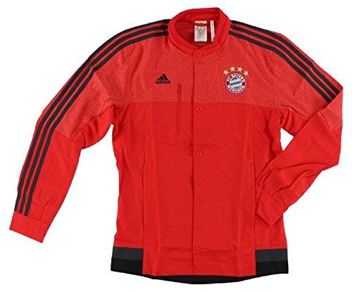 adidas FC Bayern Munchen Himno Chaqueta roja