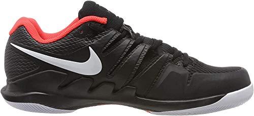 Nike Herren Zoom Air Vapor X HC Tennisschuhe, Mehrfarbig (Black/White/Bright Crimson 016), 45.5 EU