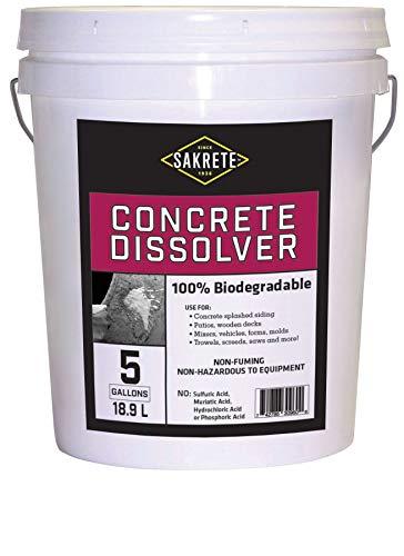 SAKRETE | Concrete & Mortar Dissolver | 5 gal