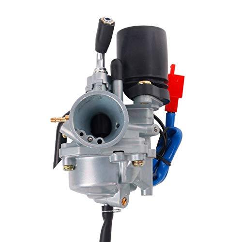 Carburador Carburador 1PE40QMB Jog 50cc 72cc 90cc 19mm con estrangulador eléctrico para...