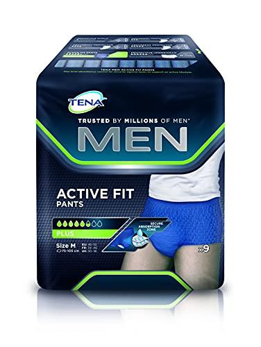 Tena Men Active Fit Pants Plus Slip Absorbant taille m...