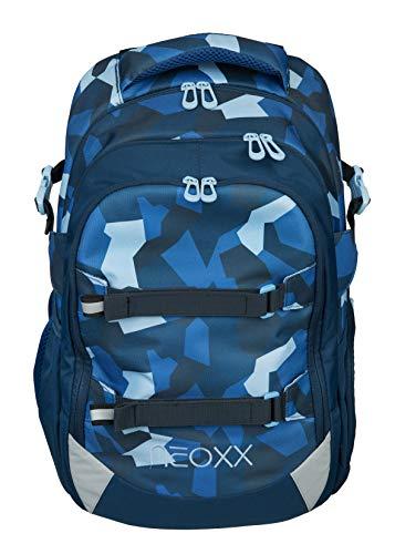 Neoxx Active Schulrucksack Camo Nation I Schulranzen für die weiterführende Schule I Ergonomischer Rucksack für Jungen und Mädchen I Tornister