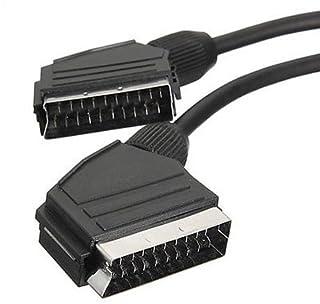1,5Mt estándar Cable de plomo SCART RGB, 21pines Totalmente Cableado Sky TV de reproductores de dvd Home Cinema TV accesorio de audio y vídeo