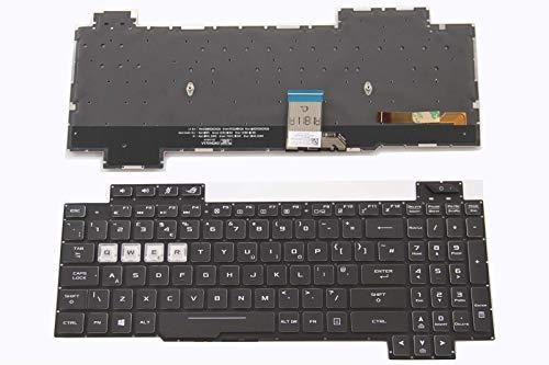 N/C UK Replacement Keyboard for Asus ROG Strix Hero II GL504GM GL504GS GL504GV GL504GW Backlight
