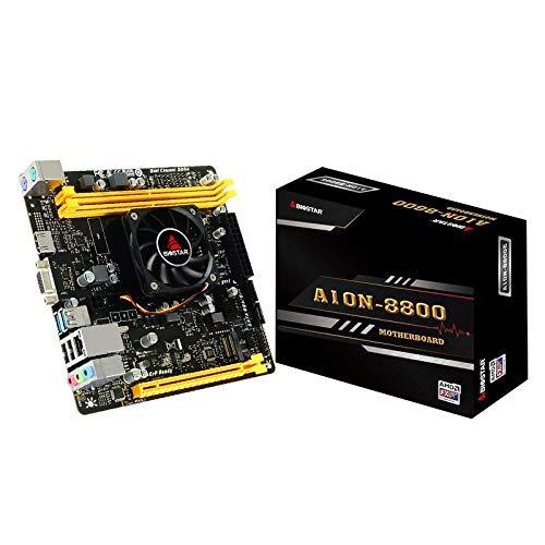 LALAHO A10N-9830E CPU AMD de Cuatro núcleos Totalmente integrada, Potente Host informático ITX 4K de bajo Consumo