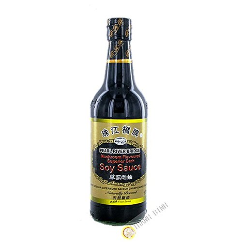 Soja-Sauce, pilz-PEARL RIVER BRIDGE 500ml China - Pack 6 stück