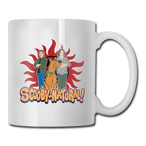 Taza de café de Scooby Doo, taza de té para la oficina y el hogar, taza apta para microondas, lavavajillas
