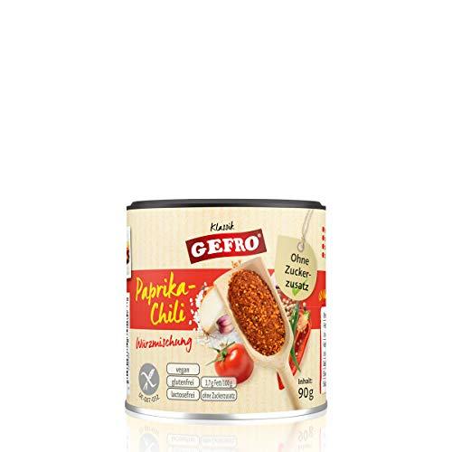 GEFRO Paprika-Chili zum Würzen und Verfeinern von Dips, Soßen, Rohkost & Fleisch (90g)
