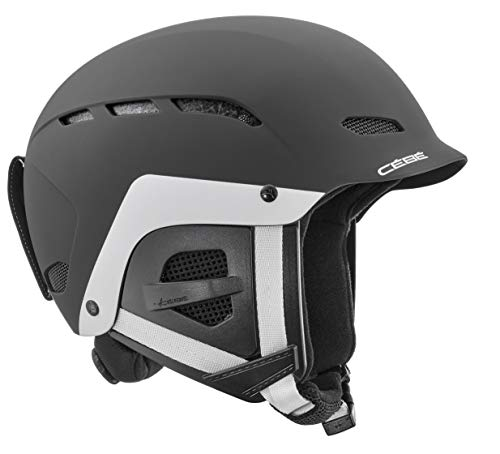 Cébé Kinder Dusk Skihelm, Matt Black/White, 51-53cm