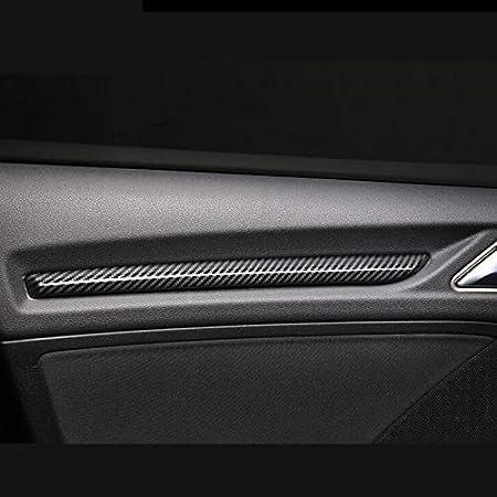Hdcf Autotürverkleidungsstreifen Abs Mittelkonsole Armaturenbrett Dekoration Abdeckung Blenden Abs Für A3 8 V 2014 2018 S3 Kohlefaser Farbe Auto
