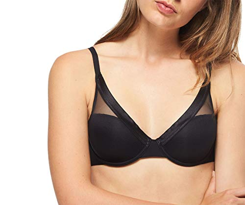 Passionata by Chantelle Women's Holidays Smooth Lightweight Bra 7919 34E Black
