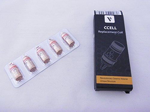 5er Pack Keramik cCell Kanthal Verdampferköpfe VAPORESSO 0.9 ohm