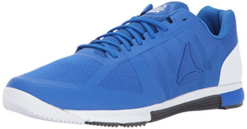 Reebok Men's Crossfit Speed TR 2.0 Cross-Trainer Shoe, Vital Blue/Black/White/ash Grey/Silver, 10 M US